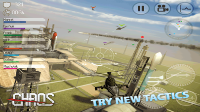 Screenshot from CHAOS Combat Copters HD - №1 Multiplayer Helicopter Simulator 3D