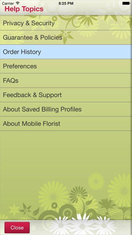 Mobile Florist: Flower Delivery - Order & Send Fresh Flowers from Anywhere using Local Florists! screenshot-4