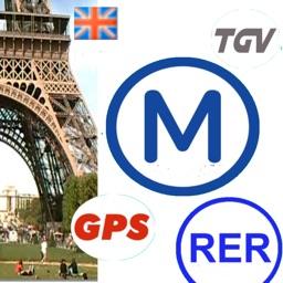 Paris metro - Maps offline, Trains, Eurostar, videos, GPS, help...