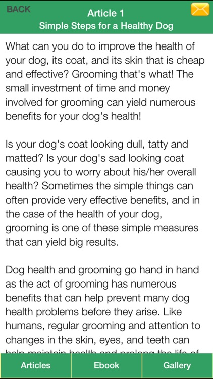 Dog Health Guide - Have a Healthy Dog and Happy Life for Your Dog! screenshot-4