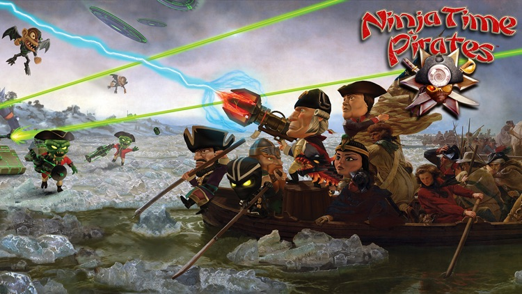 Ninja Time Pirates