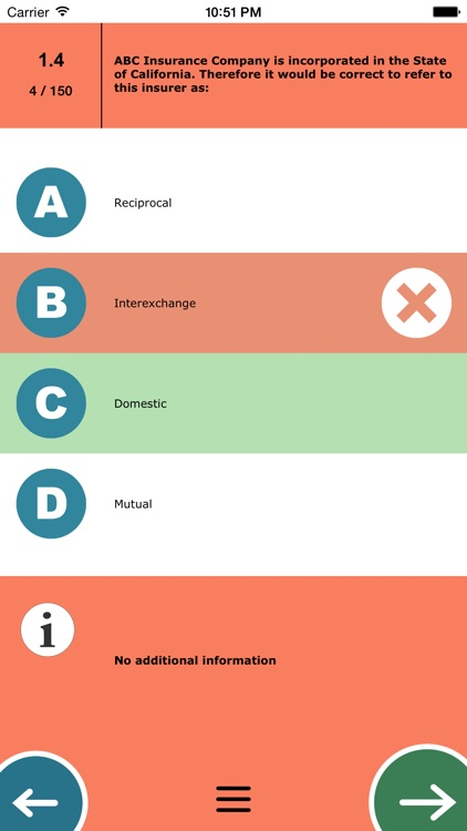 MTest: Life And Health Insurance Test