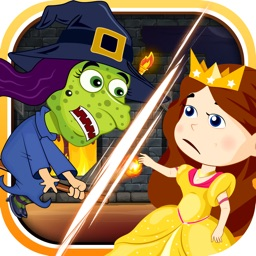 Good Beautiful Princess Battle - Evil Ugly Witch Classic Revenge Paid