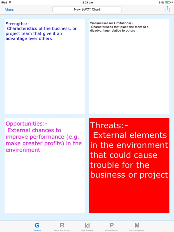 SWOT Chart screenshot-1
