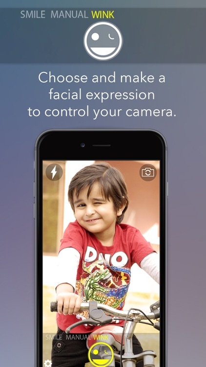 FaceCam -Take hands-free photos and selfies.