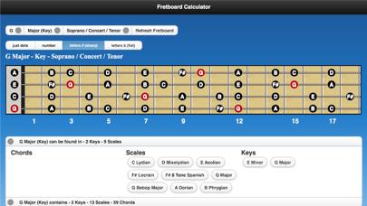 Fretboard Calculator screenshot four