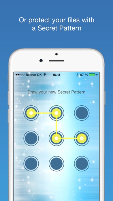 Screenshot for Finger-Print Camera Security with Touch ID & Secret Pattern Unlock Protect-ion in India App Store