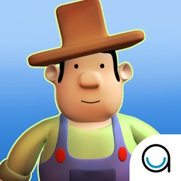 Farmer In The Dell: 3D Interactive Story Book For Children in Preschool to Kindergarten