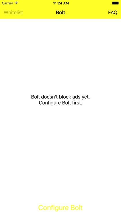 Bolt — Ad-blocker within Safari screenshot-0