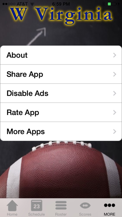 College Sports - West Virginia Football Edition screenshot-3
