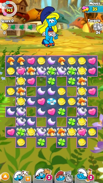 Smurfette's Magic Match screenshot-4