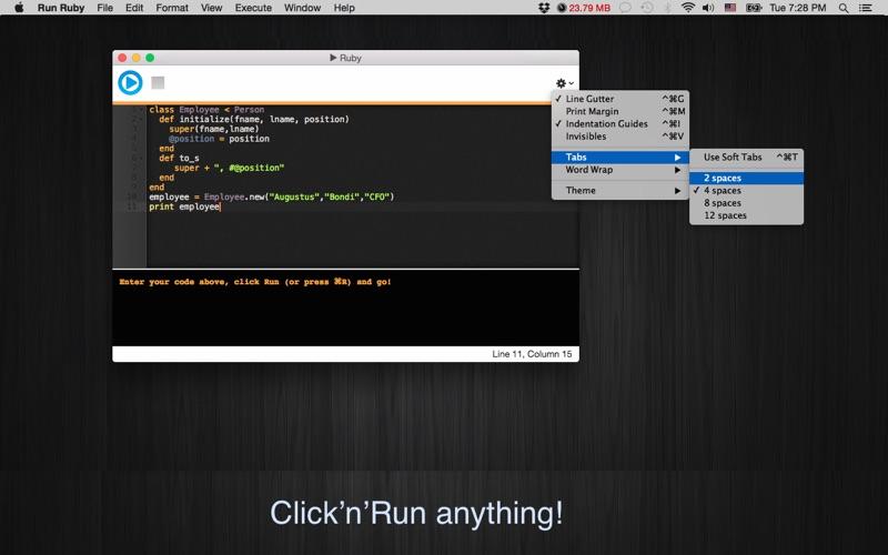 Run Ruby review screenshots