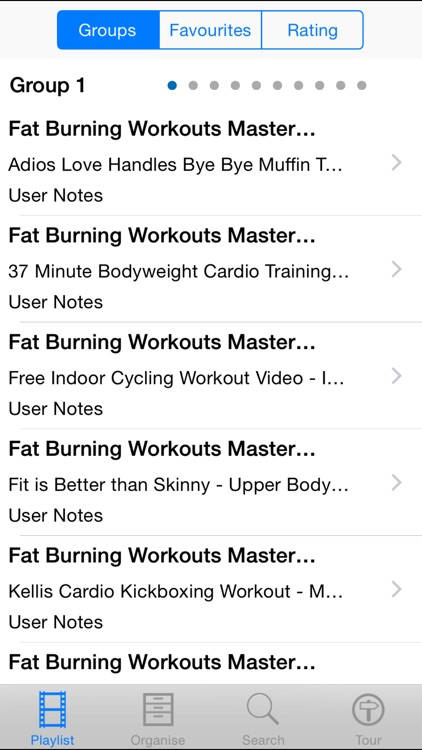 Fat Burning Workouts Master Class