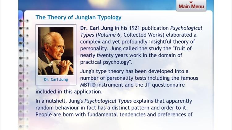 Jungian Type Questionnaire screenshot-4