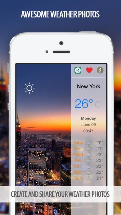 Weather Forecast - Weather Photo PRO Editor