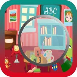 School Time Hidden Object