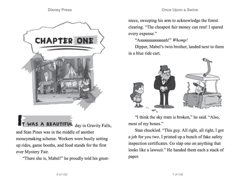 Gravity Falls Once Upon A Swine By Disney Book Group On Apple Books