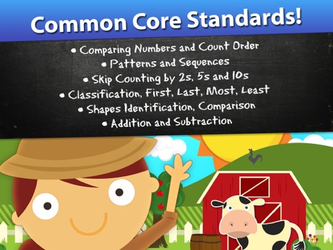 Screenshot #3 for Animal Math Games for Kids in Pre-K, Kindergarten and 1st Grade Learning Numbers, Counting, Addition and Subtraction Premium