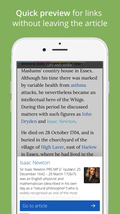 Wikiwand: Faster Wikipedia Reader screenshot-2