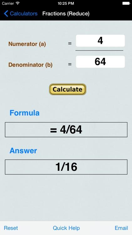 Decimal to Fraction Converter & Calculator screenshot-4