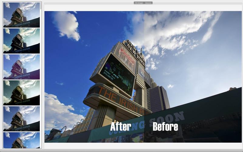 RAW HDR 101 Filters screenshot 1