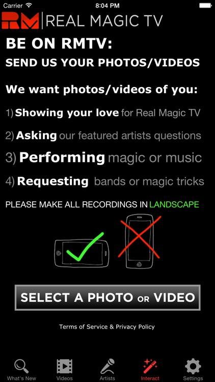 Real Magic TV (RMTV) screenshot-3