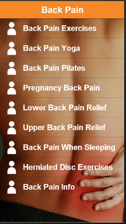 Back Pain Relief - Learn How To Relieve Back Pain Easily screenshot-0