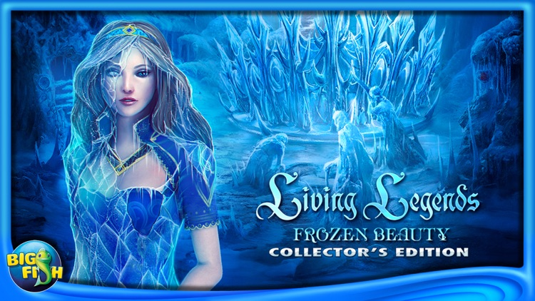Living Legends: Frozen Beauty - A Hidden Object Fairy Tale (Full) screenshot-4