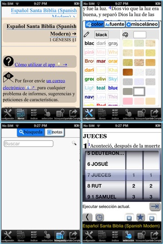 Español Santa Biblia (Spanish Modern Translation Bible) screenshot 1