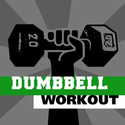 Dumbbell workout - training hiit wod & exercises trainer for abs arm leg PRO