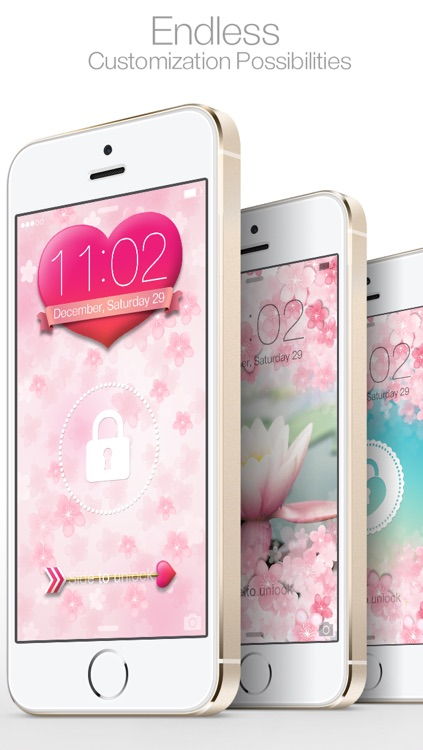CherryLock : Cherry Blossom theme wallpapers ( for Lock screen ) screenshot-4