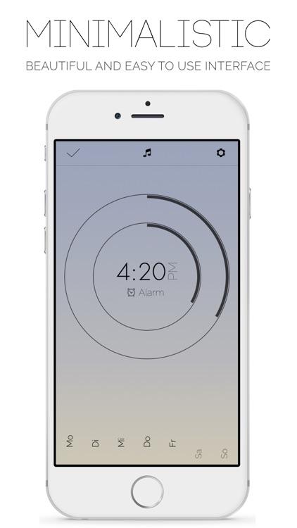 Snoozy - Alarm Clock with Voice Snooze screenshot-3