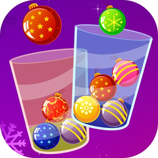 100 Christmas Crossy Balls - make it work for Santa!