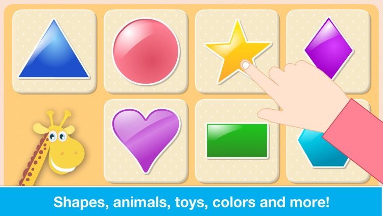 Baby First Words. Matching Educational Puzzle Games for Toddlers and Preschool Kids by Abby Monkey® Learning Clubhouse