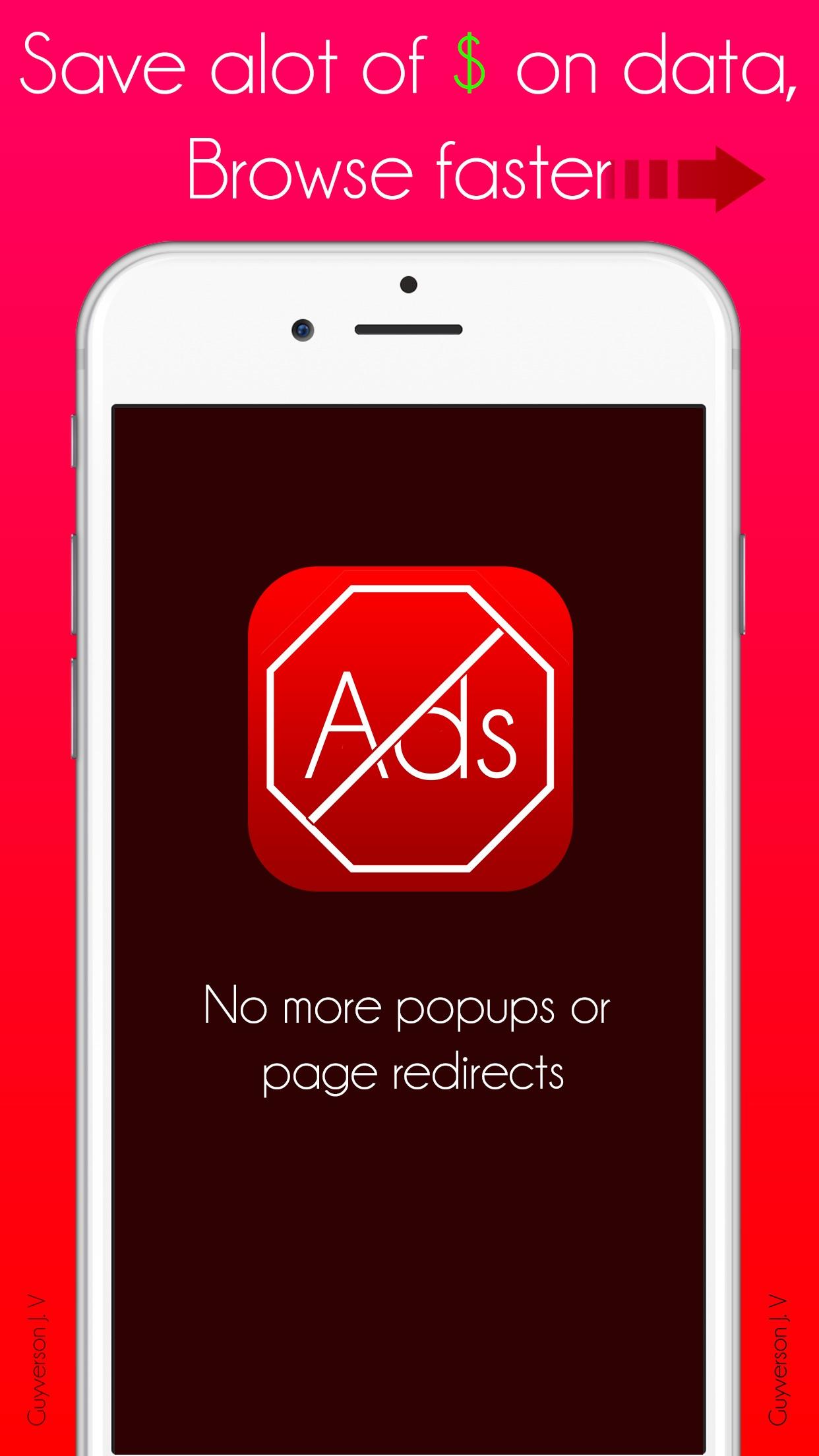 PureBlock: Ad Blocker, Faster Web Browsing Save Data & Money Screenshot