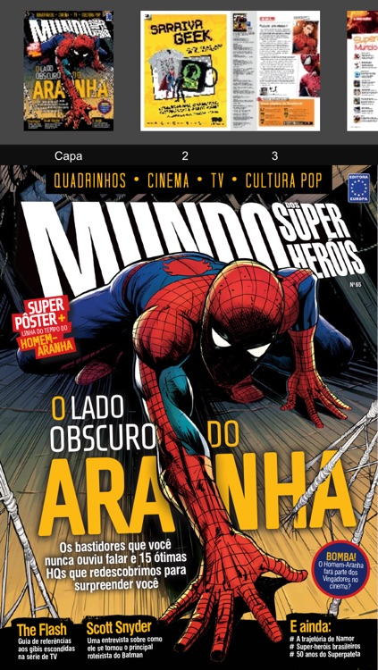 Mundo dos SuperHeróis Revista screenshot-1