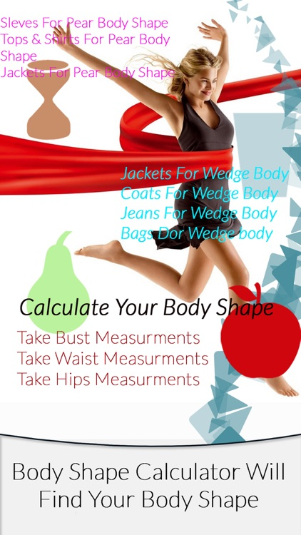 Body Shape Calculator (DressUp your body)