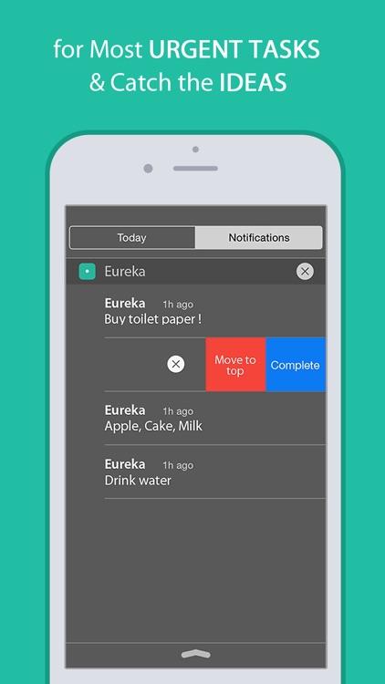 Eureka: Quick Memo & To-Do List