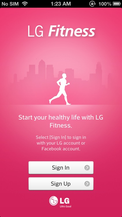 LG Fitness screenshot-0