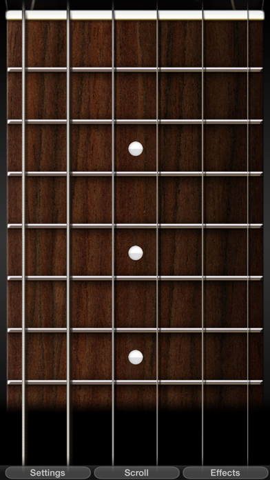 PocketGuitar - Guitare virtuelle dans votre poche