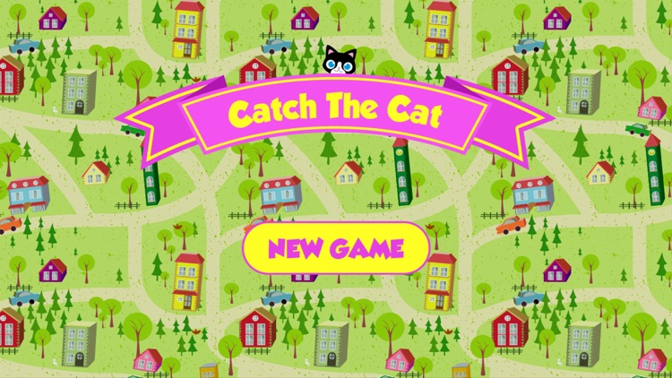 Catch The Cat. Kids Game