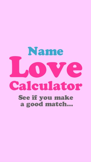 Love Calculator by Name on the App Store