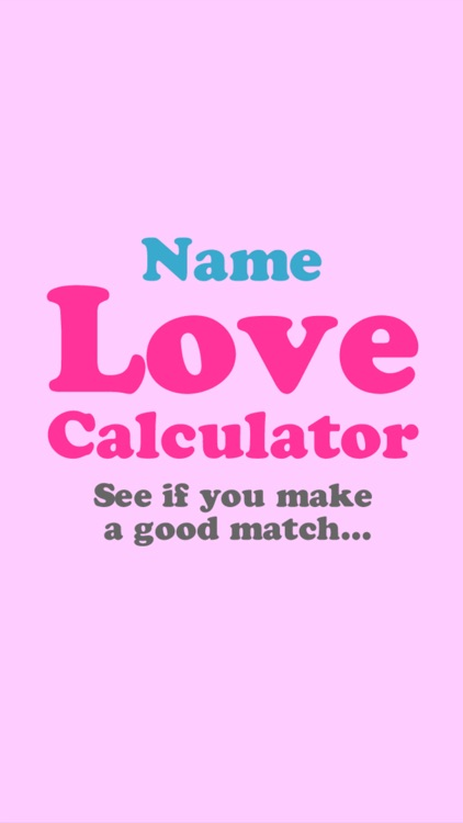 Love Calculator by Name screenshot-3