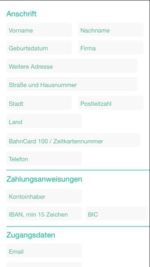Bahn und Zug Erstattung Screenshot