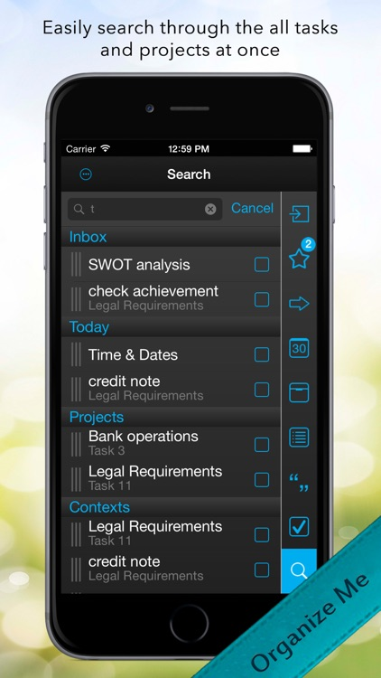 Organize Me for iPhone screenshot-4