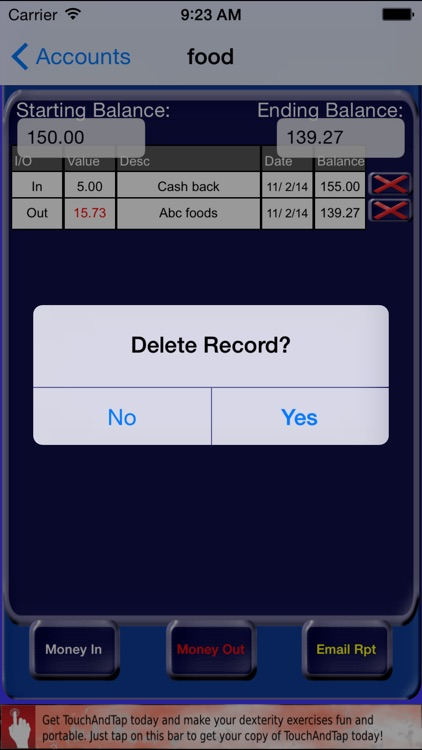 MoneyInOut screenshot-3