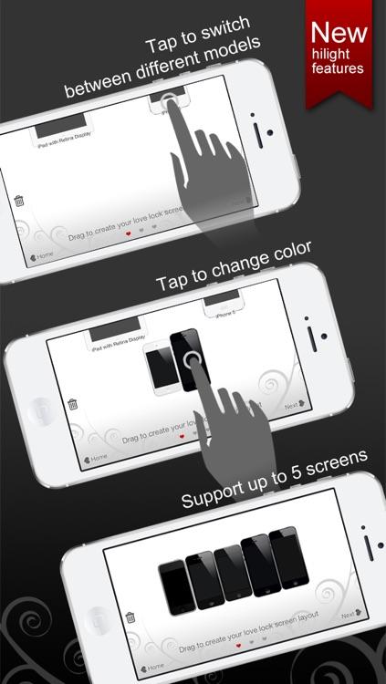 Love Lock Screens