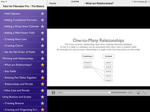 Tutor for Filemaker Pro - The Basics | App Price Drops