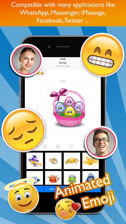Animated Emoji Keyboard Pro screenshot-3