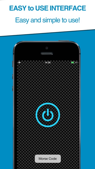 Morse Code Transmitter (Free App Download) screenshot two
